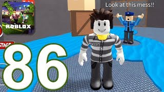 ROBLOX - Gameplay Walkthrough Part 86 - Escape Jail Obby (iOS, Android)