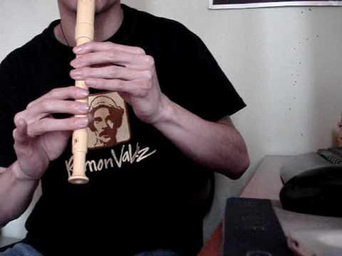 señor de los anillos en flauta dulce