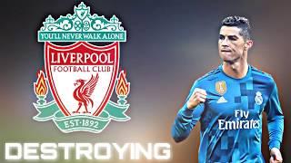 Cristiano Ronaldo Destroying! LIVERPOOL