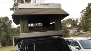 Bundutec Bundutop electric roof top tent