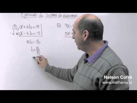 Sistema de ecuaciones 4