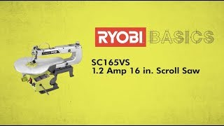 Video: 16 IN. Variable Speed Scroll Saw