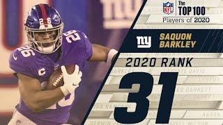 #31: Saquon Barkley (RB, Giants)   Top 100 NFL Players of 2020
