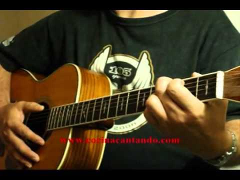 Bendita tu Luz Mana Lección de Guitarra Parte #1(HQ) Tutorial.flv