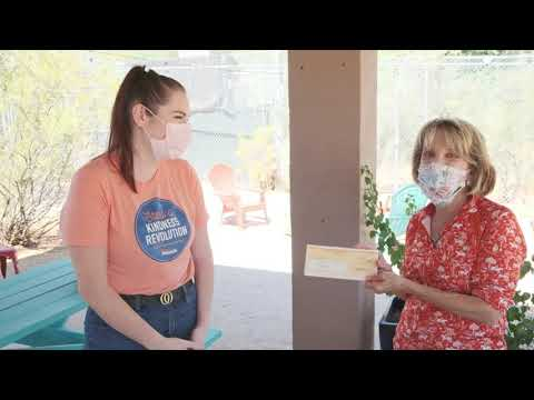 The Random Act of Kindness team at Desert Financial Credit Union visited the Southwest Wildlife Conservation Center to connect with the animals and make a $10,000 donation toward the mission to save wildlife, one life at a time.