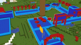 I Made WIPEOUT In Create Mod Minecraft!