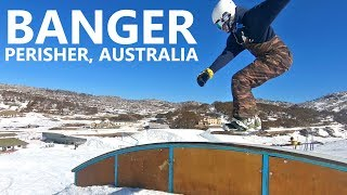 Banger Park Day Snowboarding - Perisher, Australia