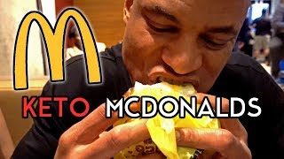 How To | PROPERLY EAT KETO AT MCDONALD'S (New Series)