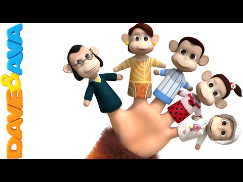 Finger Family Song | Nursery Rhymes and Baby Songs | YouTube Nursery Rhymes from Dave and Ava
