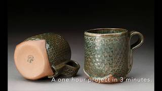 Hand Built Mug by Claire Provencher