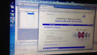 STM32F407 Ethernet test(UDP/TCP/Web Server) with LAN8720 PHY - 刘军