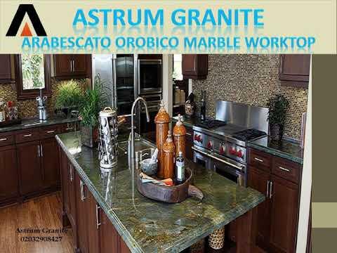Best Arabescato Orobico Marble Kitchen Worktop for Home | Call 02032908427 - Astrum Granite