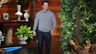 Mark Wahlberg's Mysterious Dinner Guest