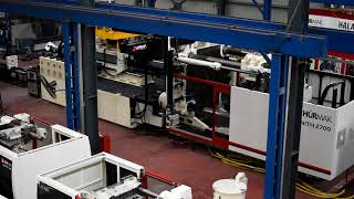 Zenith 2700 - the largest injection molding machine in Turkey.