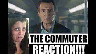 The COMMUTER 2017 Movie Trailer - REACTION!!!