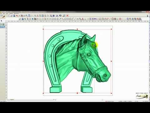 ArtClip3D - CNC Carving Software - How to Resize a 3D model?