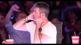 Defiant Simon Cowell Gets Crowd Boos for MOST RUDE Reaction! | America's Got Talent 2017