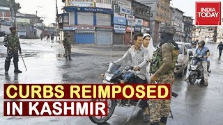Modi's Naya Kashmir : Ahead Of Independence Day Curbs Reimposed In Kashmir Valley