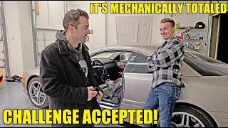 I Bought Hoovie's Really Broken CarTrek CL65 AMG & I'm Going To Rebuild It! 50-Hour V12 Engine Job!