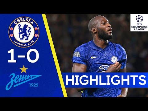 Chelsea 1-0 Zenit St Petersburg | Lukaku Hits Winner For The Blues | Champions League