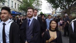 University of Otago graduands parade 2016