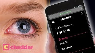 Is Dark Mode Actually Better For Your Eyes? - Cheddar Explains