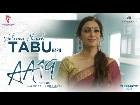 Welcome Aboard Tabu Garu - #AA19 Team