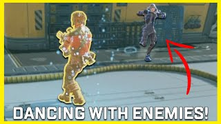 Dancing With Random Enemies In Apex Legends #Shorts