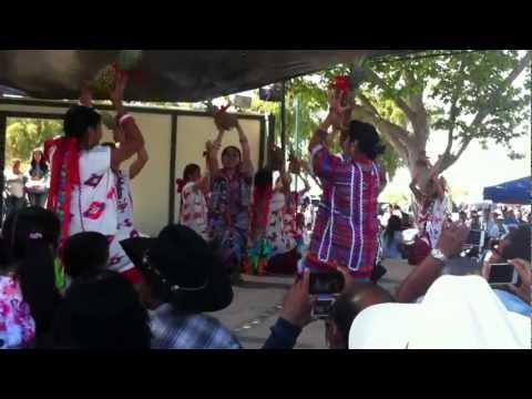 La danza de la piña, La Guelaguetza En Santa Maria CA, tradicion y cultura Oaxaqueña, 2012