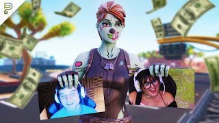 Killing Twitch Streamers Then Donating #2 - Fortnite Battle Royale