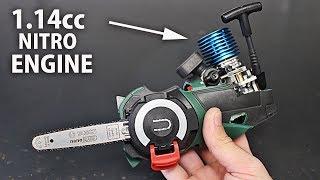 Micro Nitro Chainsaw   Part 1   Engine & Clutch