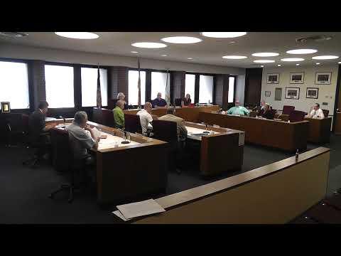 Clinton County Legislature Meeting  6-9-21