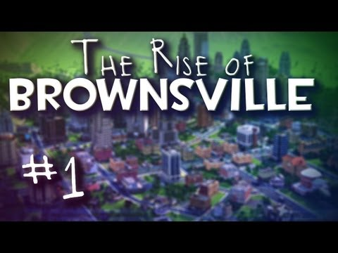 "SimCity - The Rise Of Brownsville Ep. 1 ""Welcome To The Valley Of Catopia"" - Smashpipe Games"