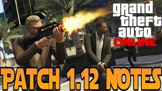 GTA 5 Online : Patch 1.12 Release Patch Notes - No Collision Races, Stunt Jumping, Police