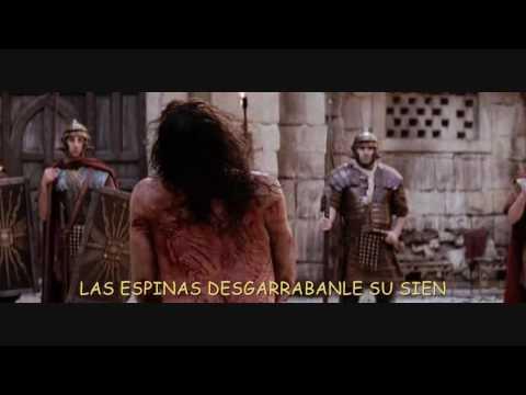 Por la via dolorosa - KARAOKE CANTADO- HD  vídeo de alta definición
