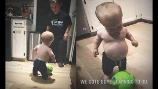 SO ADORABLE!!! 'Little People,Big World' Zach Roloff PLAYS SOCCER With Baby Jackson Roloff!!!