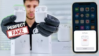NEW Perfect Fake AirPods 2 Released! 1:1 supercopy