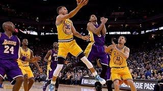 Los Angeles Lakers vs Golden State Warriors - November 24, 2015