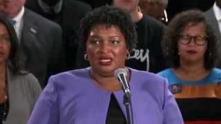 Stacey Abrams acknowledges she won't win Georgia governor's race
