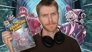 The Adventure Zone graphic novel doesn't justify not being a podcast