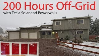 Can You Survive Off-Grid with Tesla Solar & Powerwalls?