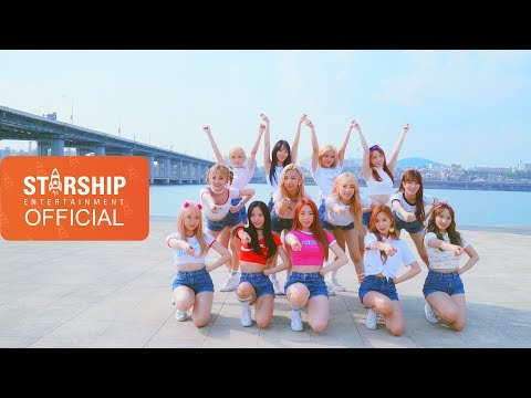 [Dance Practice] 우주소녀(WJSN) - HAPPY (RIVER EYE CONTACT ver.)