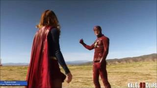 THE FLASH MEETS SUPERGIRL CROSSOVER