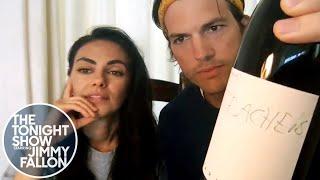Ashton Kutcher and Mila Kunis Enlist Friends to Teach Their Kids
