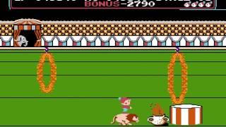 CIRCUS CHARLIE gameplay NES,DENDY (ЦИРКАЧ ЧАРЛИ) [137]
