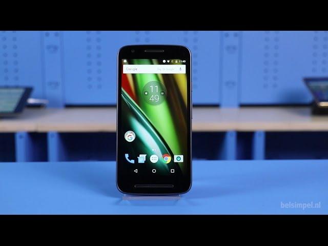 Belsimpel.nl-productvideo voor de Motorola Moto E (3rd Gen)