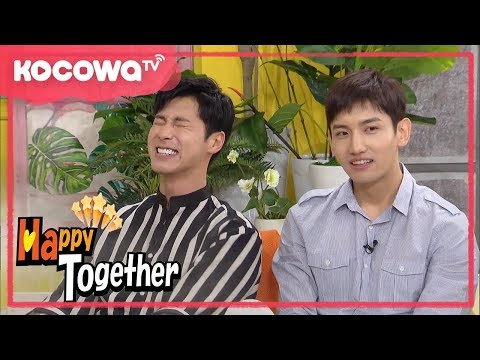 [Happy Together] Ep 517_TVXQ ChangMin felt left out from Super Junior members