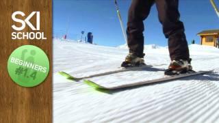 Beginner Ski Lesson #1.4 - Snow Plough Turns