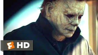Halloween (2018) - Bathroom Bloodshed Scene (2/10) | Movieclips