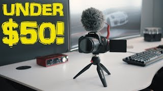 Camera Accessories for Filmmakers UNDER $50!!!